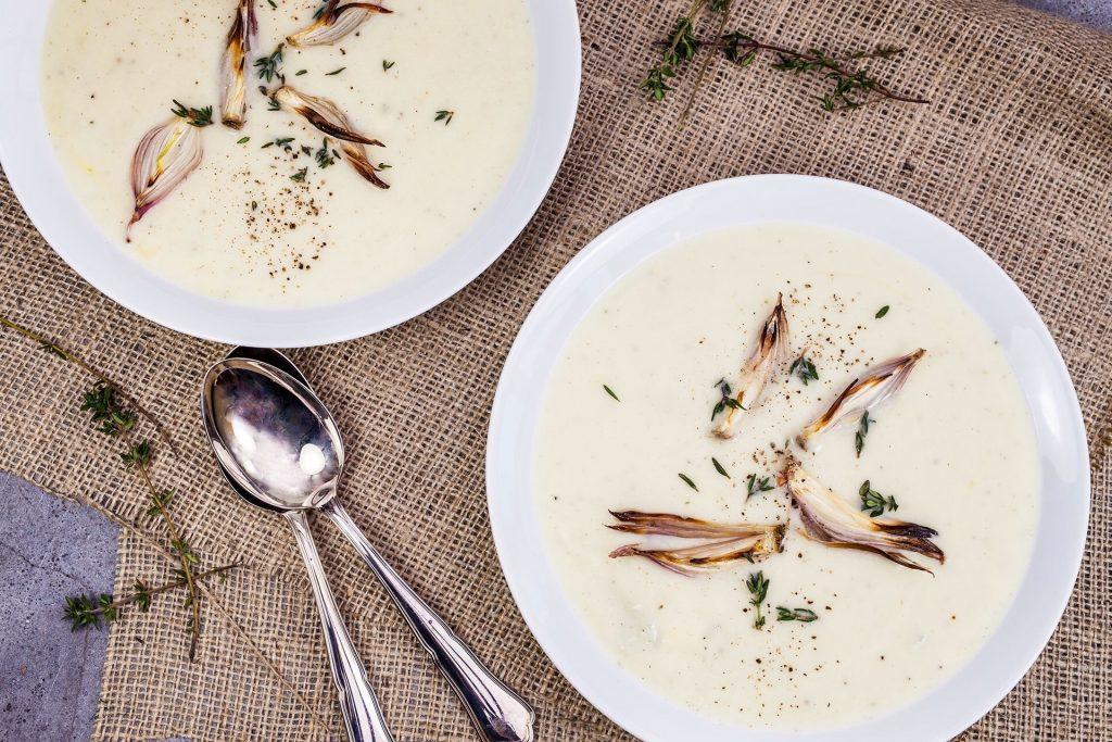 Creamy Bacon Cauliflower Soup
