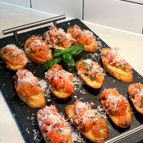 Homemade Garlic Bruschetta