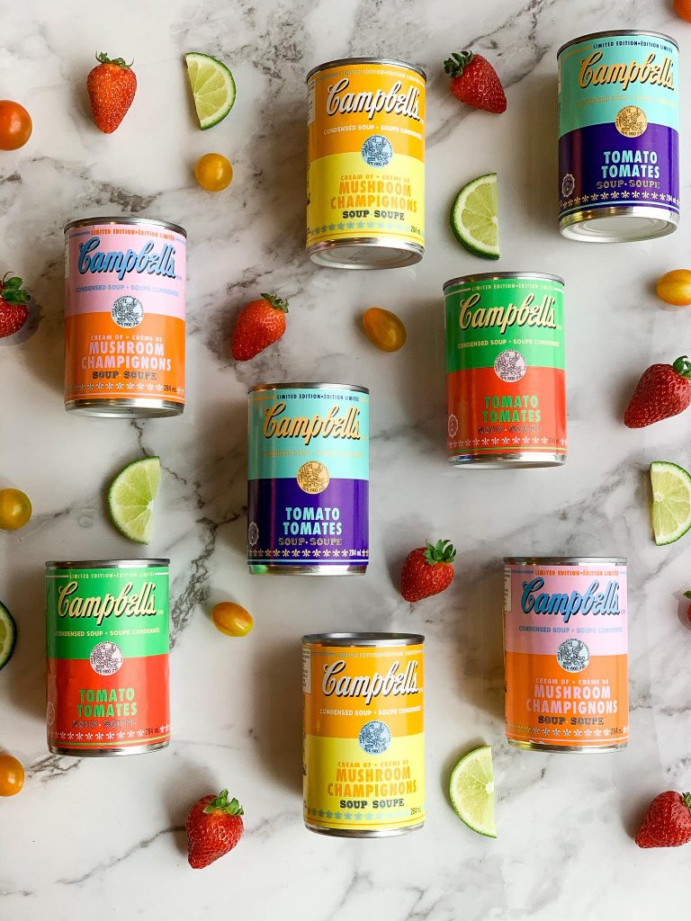 Campbell soup adnd andy warhol foundation