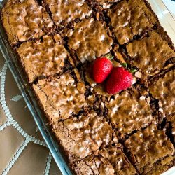 Chocolate Proetin Brownies