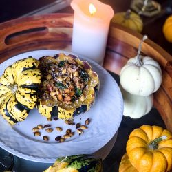 Stuffed Turkey & Veggie Squash